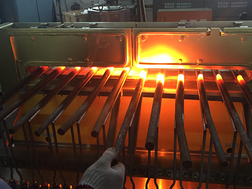 bar end induction heating