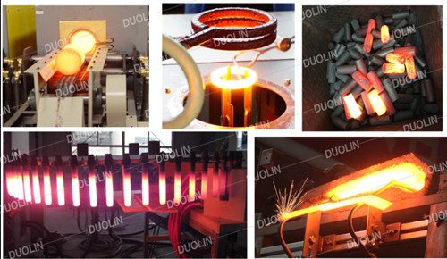 Hot forging induction heating for forging