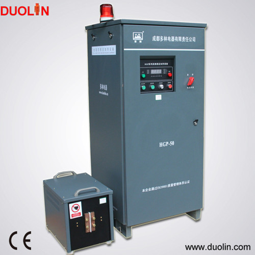 Model HGP-50  50KW 140Khz high frequency induction heating machine